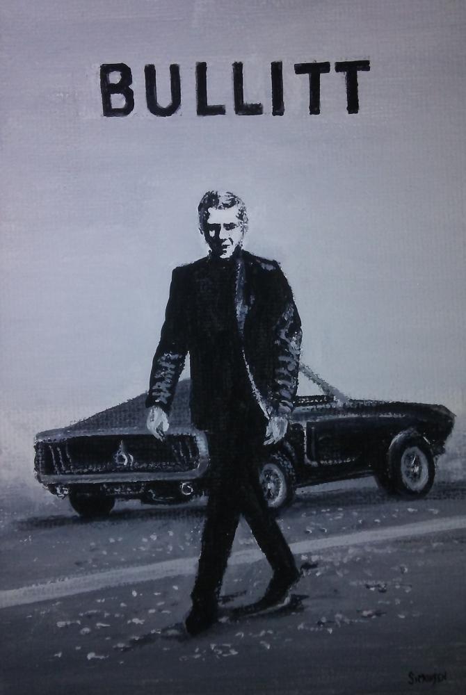 Steve McQueen by lindasimonsenart